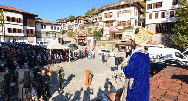 5'İNCİ SAFRAN FESTİVALİ BAŞLADI