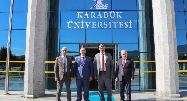 İstanbul Üniversitesi Rektörü Ak'tan, Rektör Polat'a ziyaret