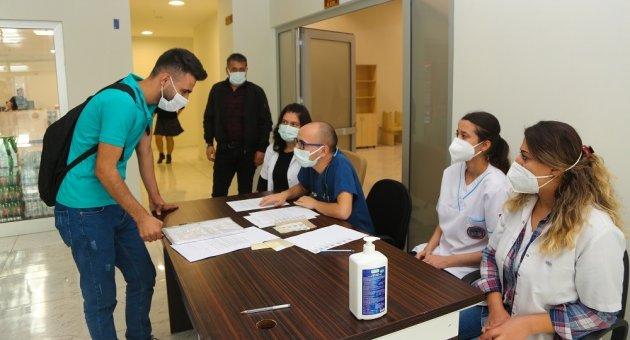 Karabük Üniversitesinde Aşı Seferberliği