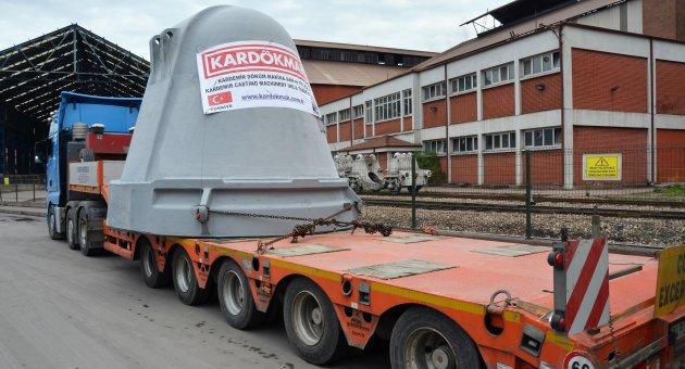 KARDÖKMAK, Savunma Sanayi için Türkiye'nin En Büyük İngot Kalıbını Üretti