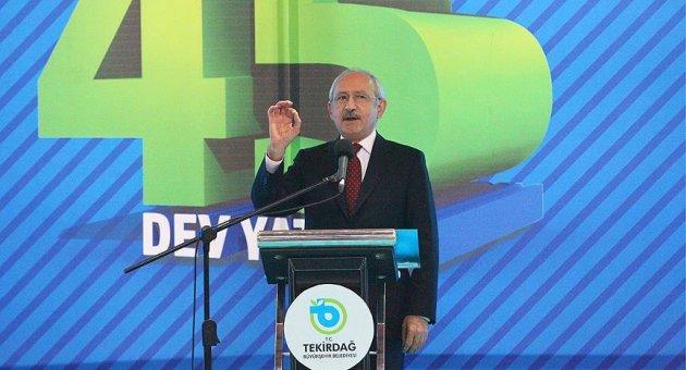 CHP Genel Başkanı Kılıçdaroğlu: El Bab'dan sonra gitmeyin