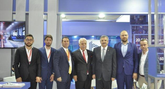 METAL EXPO 2019 FUARINA KARABÜK FİRMALARI DAMGASINI VURDU